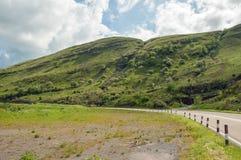 Paysage de montagne dans les balises de Brecon du Pays de Galles Photographie stock