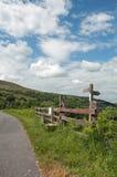 Paysage de montagne dans les balises de Brecon du Pays de Galles Image stock