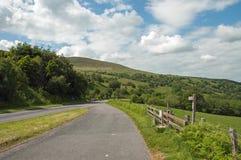 Paysage de montagne dans les balises de Brecon du Pays de Galles Photo stock