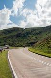 Paysage de montagne dans les balises de Brecon du Pays de Galles Image libre de droits