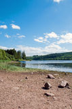 Paysage de montagne dans les balises de Brecon du Pays de Galles Photographie stock libre de droits