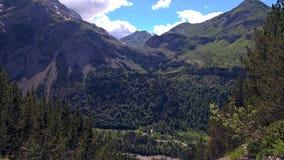 Paysage de montagne dans les hauts Pyrénées photographie stock