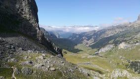 Paysage de montagne dans les hauts Pyrénées photos stock