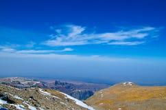 Paysage de montagne de Changbai Image stock