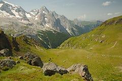 Paysage de montagne de dolomites Images libres de droits