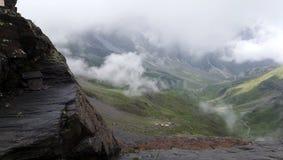 Paysage de montagne de Hourquette de Héas photo libre de droits
