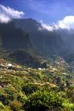 Paysage de montagne de la Madère, DOS Judeu de Lombo DA Serra Images libres de droits