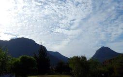 Paysage de montagne de stupéfaction Cedarberg Photographie stock