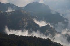 Paysage de montagne de Taïwan Images libres de droits