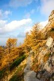 Paysage de montagne de Taibai photographie stock libre de droits