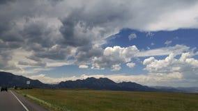 Paysage de montagne du Colorado Image libre de droits