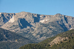 Paysage de montagne du Colorado en automne Image stock