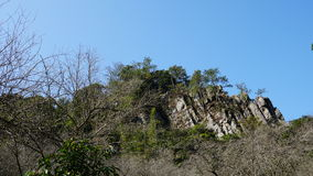 Paysage de montagne du rocher Images stock