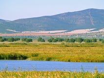 Paysage de montagne en Espagne images stock