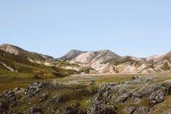 Paysage de montagne en Islande Photographie stock libre de droits