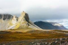 Paysage de montagne en Islande Photo stock