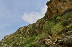 Paysage de montagne, Kirghizistan Photos stock