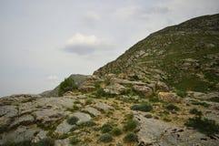 Paysage de montagne, Kirghizistan Photographie stock