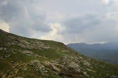 Paysage de montagne, Kirghizistan Photo libre de droits