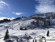 Paysage de montagne de Milou dans le vipiteno dans l'alto l'Adige de trentino Photo stock