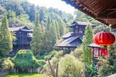 Paysage de montagne de parc national de Zhangjiajie, porcelaine photographie stock