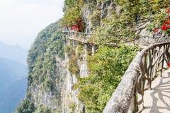 Paysage de montagne de parc national de Zhangjiajie, porcelaine photo libre de droits