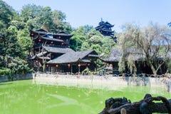Paysage de montagne de parc national de Zhangjiajie, porcelaine images stock