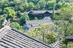 Paysage de montagne de parc national de Zhangjiajie, porcelaine photo stock