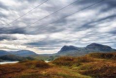 Paysage de montagnes photos stock