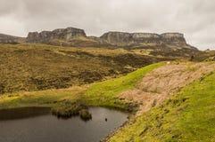 Paysage de montagnes Images libres de droits