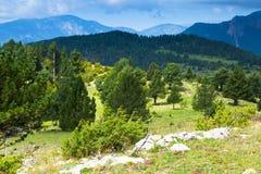 Paysage de montagnes dans le jour d'été pyrénées Photographie stock libre de droits