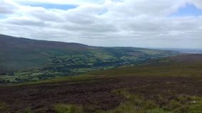 Paysage de montagnes de Wicklow Photo libre de droits