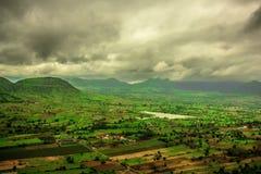 Paysage de nature dans le nashik Photo stock