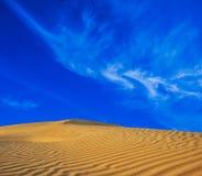 Paysage de nature de sable de désert Photographie stock libre de droits