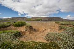 Paysage de nature de l'Islande Images libres de droits
