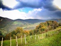 paysage de nature sur la montagne Image libre de droits