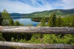 Paysage de Norvégien de ressort Image stock