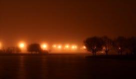 Paysage de nuit image stock