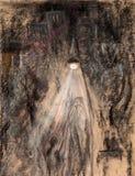 Lumière dans la nuit Illustration Libre de Droits