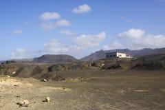 Paysage de péninsule de Jandia Photos stock