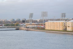 Paysage de Pétersbourg Images libres de droits