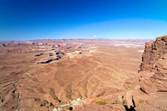 Paysage de parc national de Canyonlands Photographie stock libre de droits