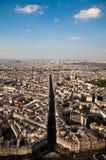 Paysage de Paris Photographie stock libre de droits