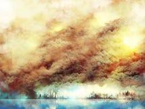 Paysage de paysage Image libre de droits