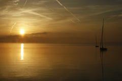 Paysage de Peacefull Balaton Photos libres de droits