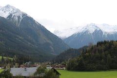 Paysage de Pinzgau Photographie stock