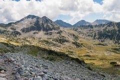 Paysage de Pirin de montagne Photo stock