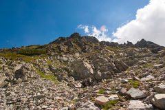 Paysage de Pirin de montagne Photos stock