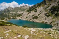 Paysage de Pirin de montagne Photographie stock