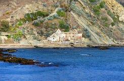 Paysage de plage à Tarifa Images stock